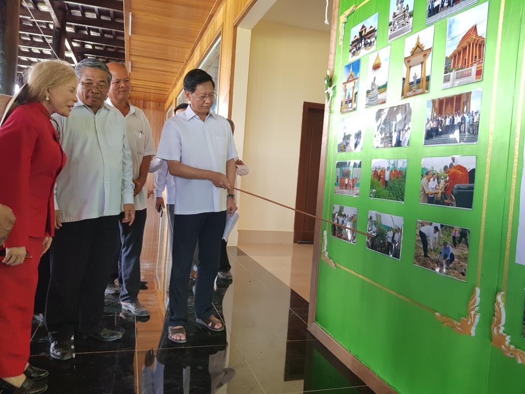 wildlife alliance ceo Wildlife Alliance CEO attends opening of Kranhoung Conservation Center 20180201 103831