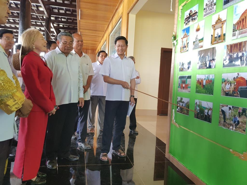 wildlife alliance ceo Wildlife Alliance CEO attends opening of Kranhoung Conservation Center 20180201 103836
