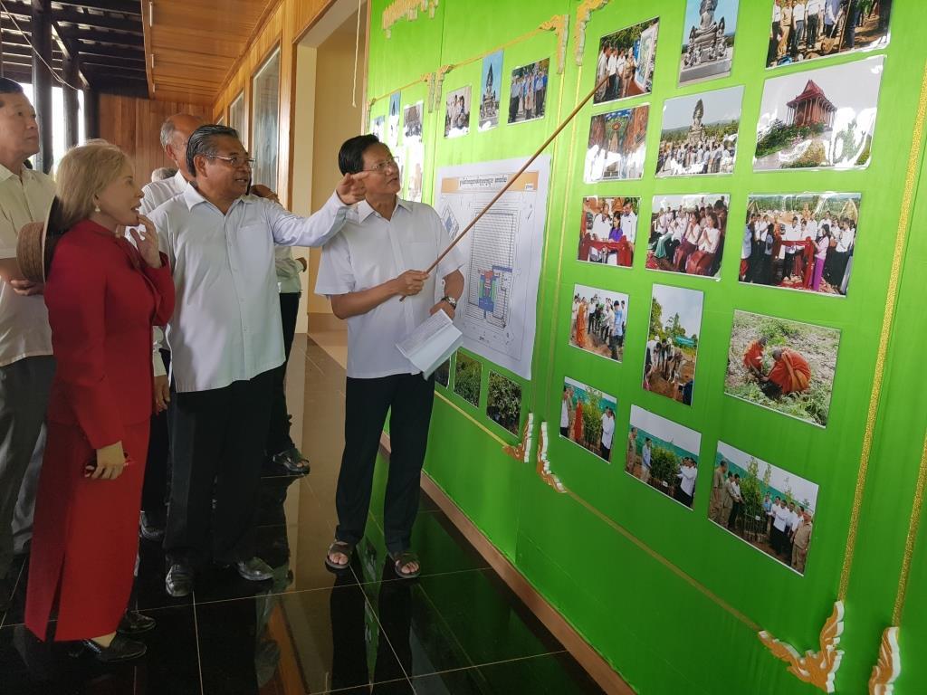 wildlife alliance ceo Wildlife Alliance CEO attends opening of Kranhoung Conservation Center 20180201 104033