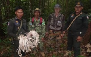 #snared #Snared Cardamom Protection Wildlife Alliance Rangers Snares 11 1 320x202