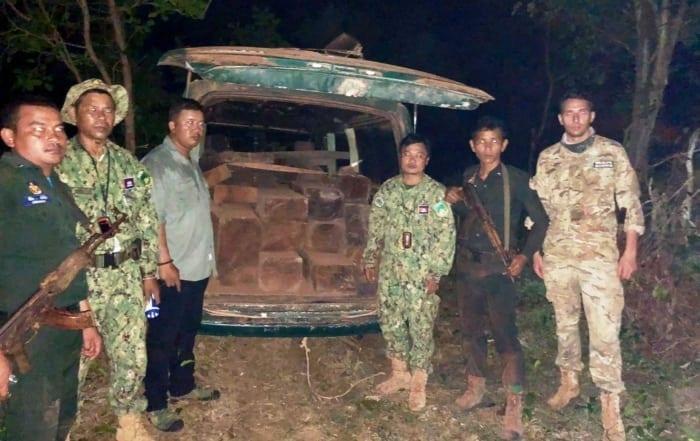 sponsor the asian elephant station Sponsor the Asian Elephant Station Forest rangers cought timber smuggler 700x441