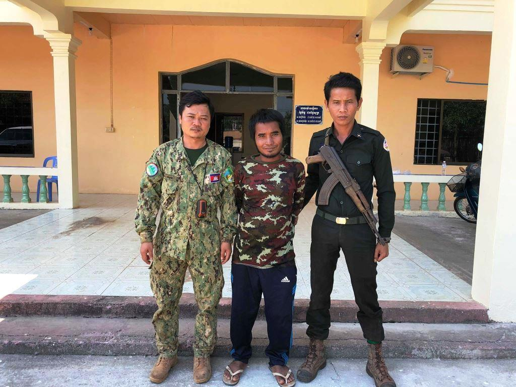 person detained One person detained for clearing state forest Land Encrochement arrest Cambodia