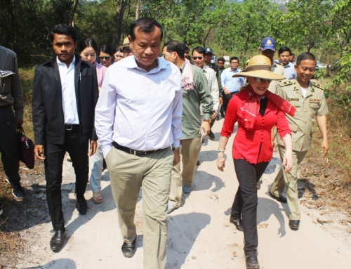 H.E. Dr. Thong Khon, Minister of Tourism visits Stung Areng community based eco-tourism (CBET)