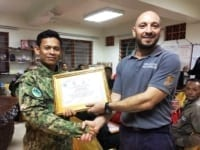 law enforcement SCFPP – Law Enforcement Manager recognized the dedicated senior rangers with tenure of over 13 years senior rangers Cambodia Law Enforcement 1 200x150