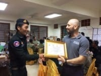 law enforcement SCFPP – Law Enforcement Manager recognized the dedicated senior rangers with tenure of over 13 years senior rangers Cambodia Law Enforcement 15 200x150