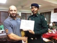 law enforcement SCFPP – Law Enforcement Manager recognized the dedicated senior rangers with tenure of over 13 years senior rangers Cambodia Law Enforcement 17 200x150