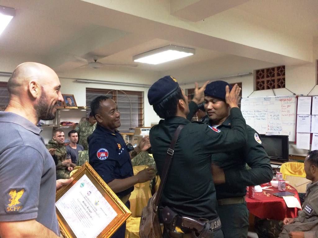 law enforcement SCFPP – Law Enforcement Manager recognized the dedicated senior rangers with tenure of over 13 years senior rangers Cambodia Law Enforcement 21