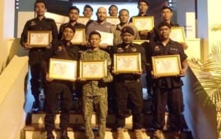 law enforcement SCFPP – Law Enforcement Manager recognized the dedicated senior rangers with tenure of over 13 years senior rangers Cambodia Law Enforcement 22 320x202