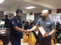 law enforcement SCFPP – Law Enforcement Manager recognized the dedicated senior rangers with tenure of over 13 years senior rangers Cambodia Law Enforcement 9 200x150