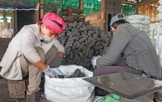 carbon credit Cost of Cambodia's carbon credits must be raised: study finds Green charcoal Cambodia 320x202
