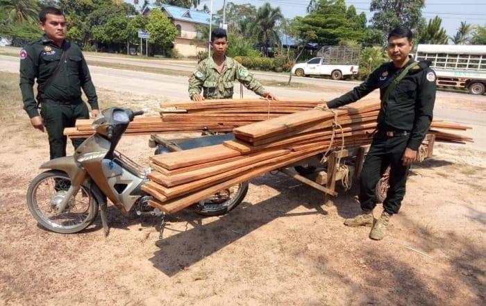 sponsor the asian elephant station Sponsor the Asian Elephant Station Illegal timber Cambodia 700x441