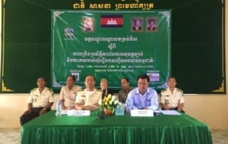 Training workshop on Law Enforcement and Building Cases of Natural Resources offenses in Koh Kong The opening ceremony for the training workshop on Law Enforcement and Building Cases of Natural Resources offenses im Koh Kong 12 320x202