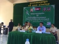Training workshop on Law Enforcement and Building Cases of Natural Resources offenses in Koh Kong Training workshop on Law Enforcement and Building Cases of Natural Resources offenses in Koh Kong The opening ceremony for the training workshop on Law Enforcement and Building Cases of Natural Resources offenses im Koh Kong 8 200x150