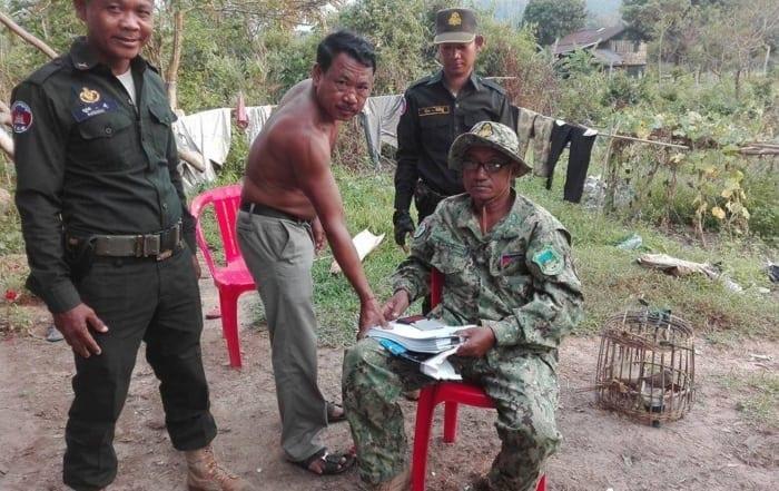 sponsor the sun bear station Sponsor the Sun Bear Station green pigeon offence Cambodia 700x441
