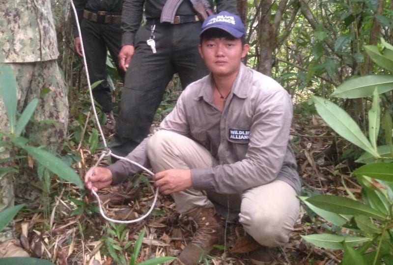 sanares Sun Bear Station dismantle 135 snares wildlife alliance rangers cambodia 1 800x539