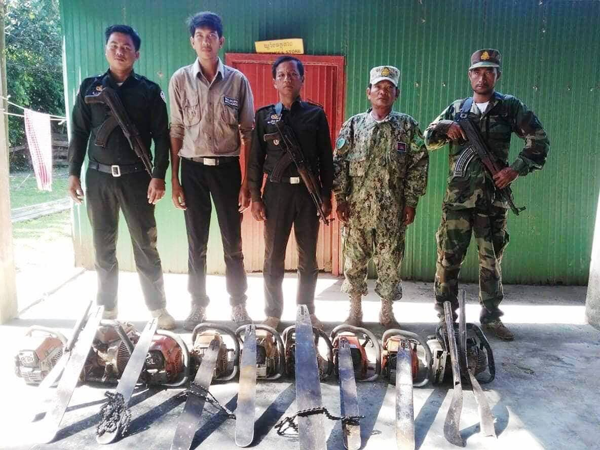 chainsaws Hunting camps and chainsaws Cambodia chainsaws