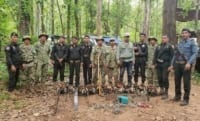 Phnom Tnout Wildlife Sanctuary Wildlife Alliance intervention UPDATES May 13 2018 Phnom Tnout Wildlife Sanctuary illegal chainsaws 7 200x121