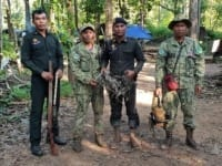 Phnom Tnout Wildlife Sanctuary Wildlife Alliance intervention UPDATES May 15 2018 Phnom Tnout Wildlife Sanctuary Illegal Home made guns 4 200x150