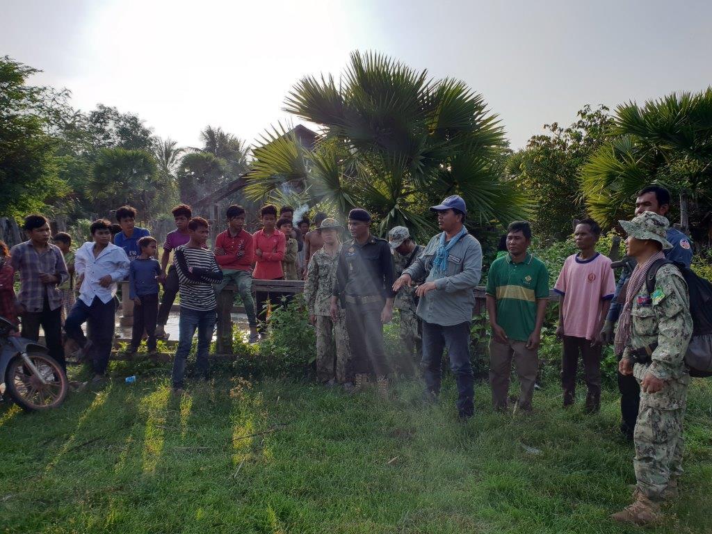 phnom tnout wildlife sanctuary wildlife alliance intervention updates Phnom Tnout Wildlife Sanctuary Wildlife Alliance intervention UPDATES May 16 2018 Phnom Tnout Wildlife Sanctuary illegal hunting and logging 16