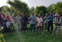 Phnom Tnout Wildlife Sanctuary Wildlife Alliance intervention UPDATES May 16 2018 Phnom Tnout Wildlife Sanctuary illegal hunting and logging 17 200x137