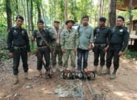 Phnom Tnout Wildlife Sanctuary Wildlife Alliance intervention UPDATES May 16 2018 Phnom Tnout Wildlife Sanctuary illegal hunting and logging 22 200x146