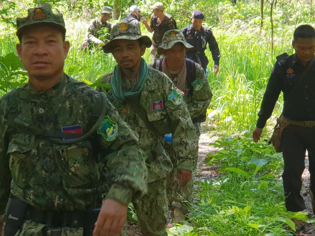 phnom tnout wildlife sanctuary wildlife alliance intervention updates Phnom Tnout Wildlife Sanctuary Wildlife Alliance intervention UPDATES Phnom Tnout Wildlife Sanctuary intervention May 09 2018 6