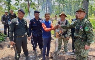 phnom tnout wildlife sanctuary wildlife alliance intervention updates Phnom Tnout Wildlife Sanctuary Wildlife Alliance intervention UPDATES Phnom Tnout Wildlife Sanctuary intervention May 09 2018 7 320x202