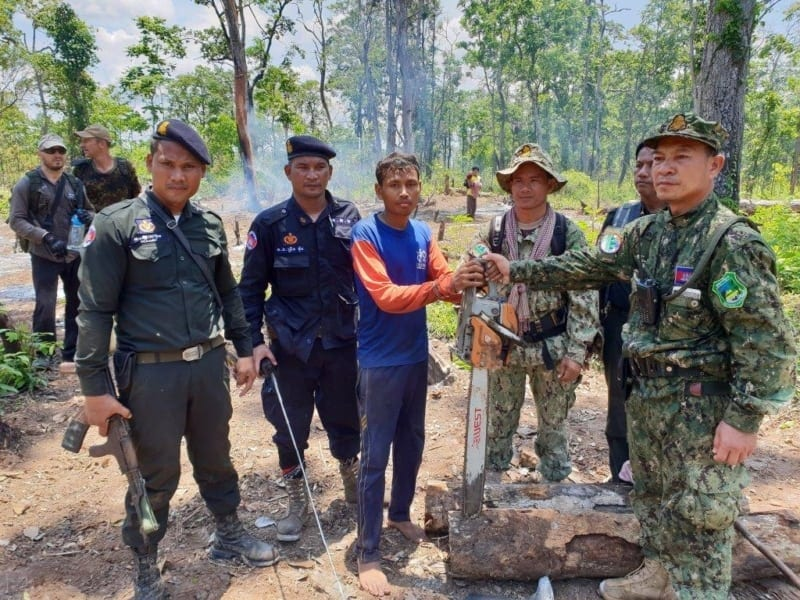 Phnom Tnout Wildlife Sanctuary Wildlife Alliance intervention UPDATES Phnom Tnout Wildlife Sanctuary intervention May 09 2018 7 800x600