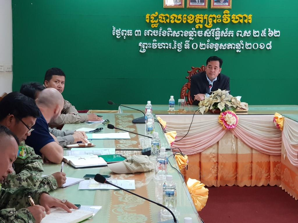 phnom tnout wildlife sanctuary wildlife alliance intervention updates Phnom Tnout Wildlife Sanctuary Wildlife Alliance intervention UPDATES Preah Vihear Provincial authorities 1