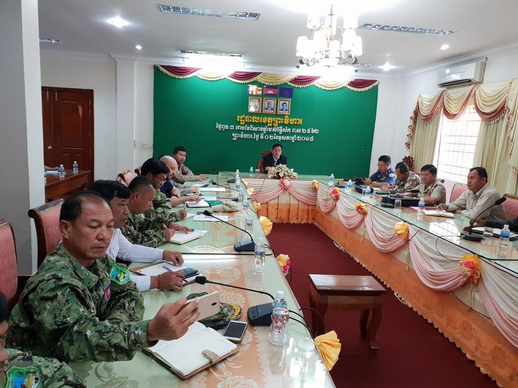 phnom tnout wildlife sanctuary wildlife alliance intervention updates Phnom Tnout Wildlife Sanctuary Wildlife Alliance intervention UPDATES Preah Vihear Provincial authorities 2
