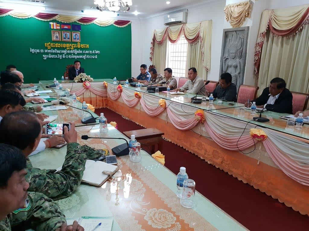 phnom tnout wildlife sanctuary wildlife alliance intervention updates Phnom Tnout Wildlife Sanctuary Wildlife Alliance intervention UPDATES Preah Vihear Provincial authorities 3