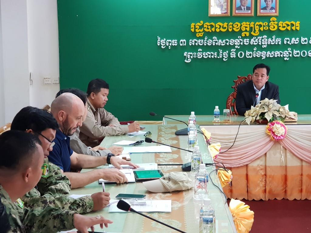 phnom tnout wildlife sanctuary wildlife alliance intervention updates Phnom Tnout Wildlife Sanctuary Wildlife Alliance intervention UPDATES Preah Vihear Provincial authorities 5