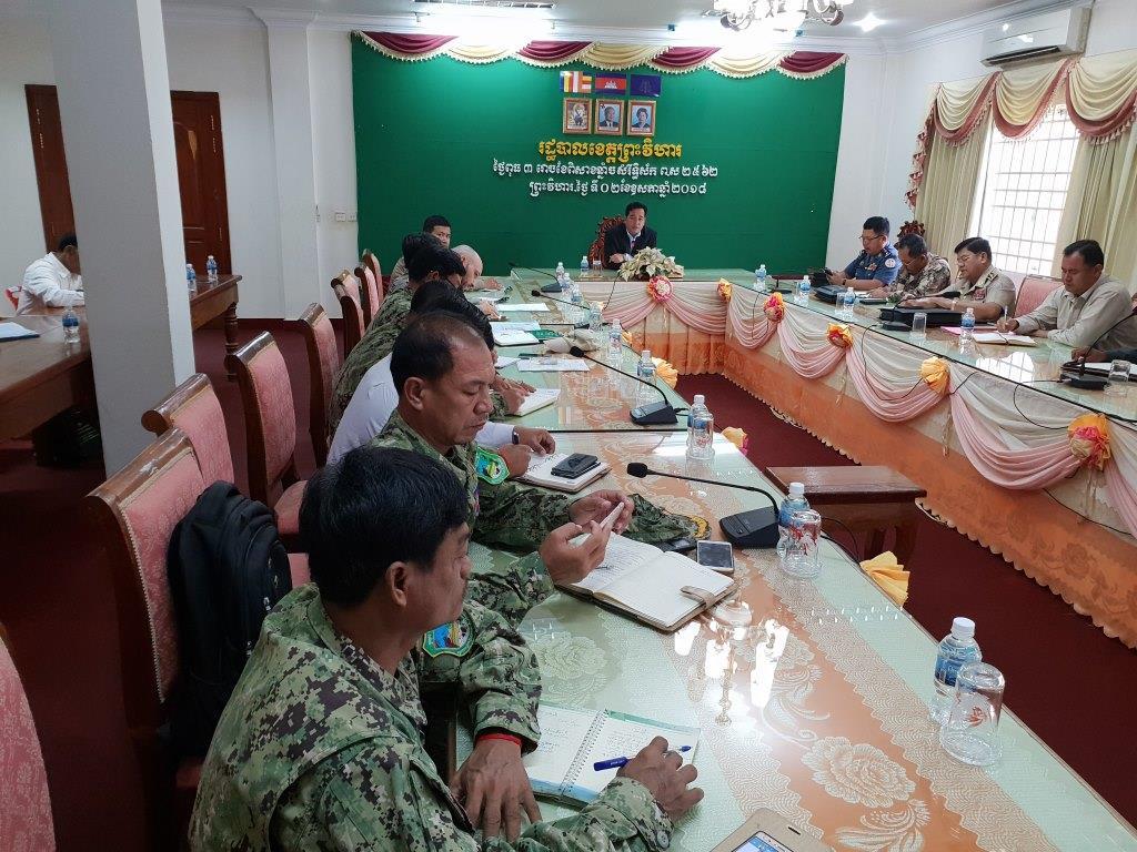 phnom tnout wildlife sanctuary wildlife alliance intervention updates Phnom Tnout Wildlife Sanctuary Wildlife Alliance intervention UPDATES Preah Vihear Provincial authorities 8