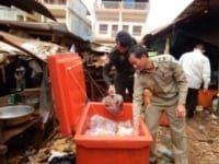 wrrt confiscates 381 lbs (173 kg) of wildlife meat from market WRRT confiscates 381 lbs (173 kg) of wildlife meat from market 2018