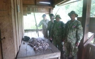 abandoned army post involved in poaching Abandoned army post involved in poaching army post Cambodia poaching 320x202