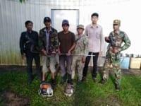 poachers sentenced to prison Poachers sentenced to prison poachers and loggers arrested by forest guards 200x150