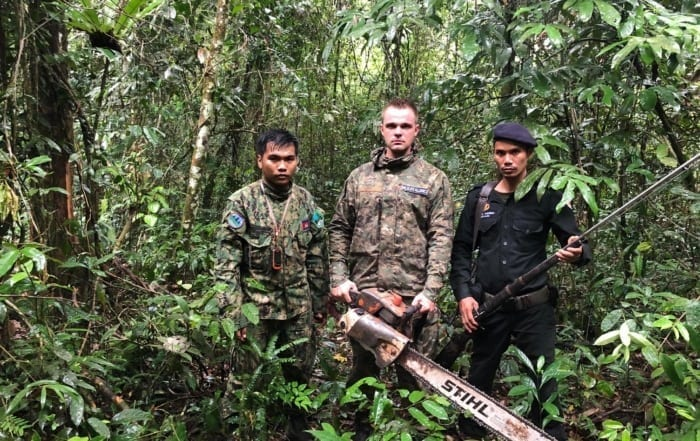 sponsor the siamese crocodile station Sponsor the Siamese Crocodile Station Forest Protection Program Wildlife Alliance rangers 700x441
