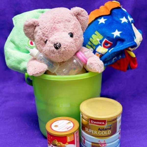 Gift shop for wild animals Baby Bucket  600x600