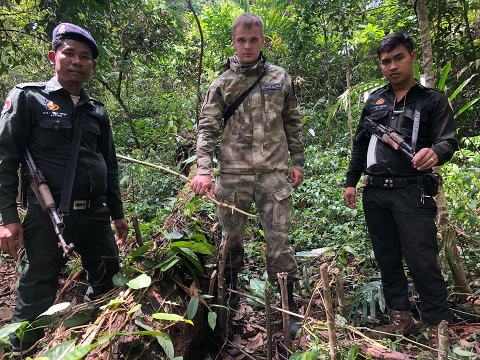 [object object] Do you enjoy civet poop coffee? Forest Guards colect animal traps