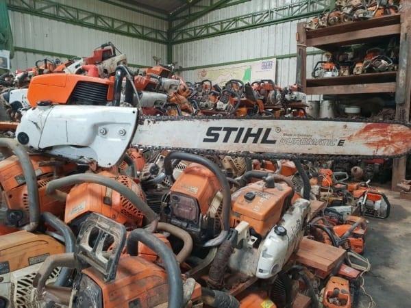 stihl Does STIHL know where their chainsaws are? Forest devastation Illegal Chainsaw 600x450