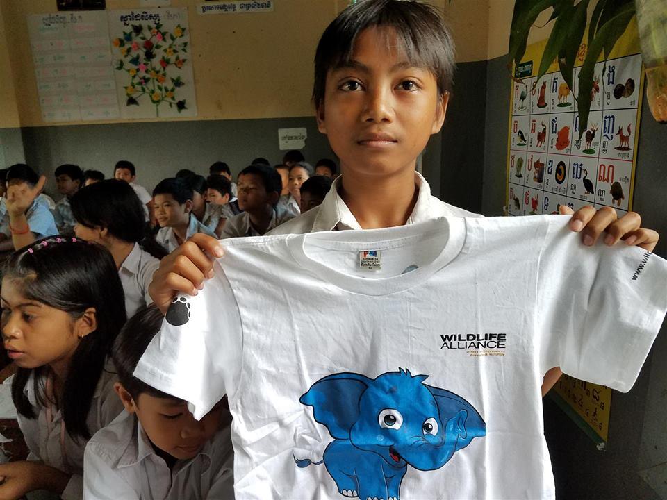 Wildlife Alliance's Mobile Environmental Educator in Phnom Prek Wildlife Alliance Mobile Environmental Educator 1