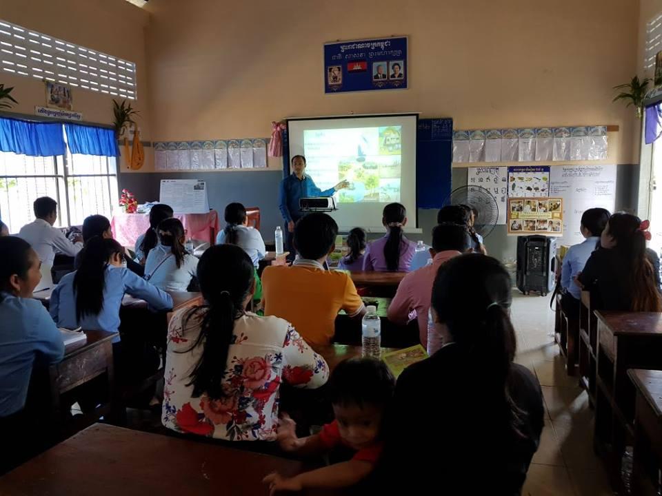 Wildlife Alliance's Mobile Environmental Educator in Phnom Prek Wildlife Alliance Mobile Environmental Educator 2