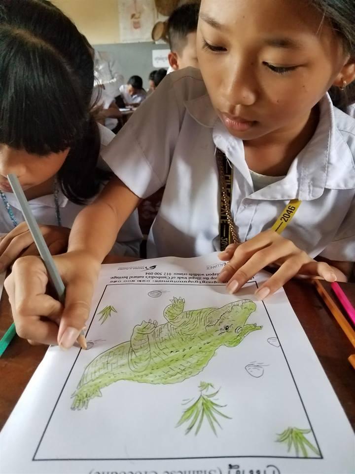 Wildlife Alliance's Mobile Environmental Educator in Phnom Prek Wildlife Alliance Mobile Environmental Educator 5