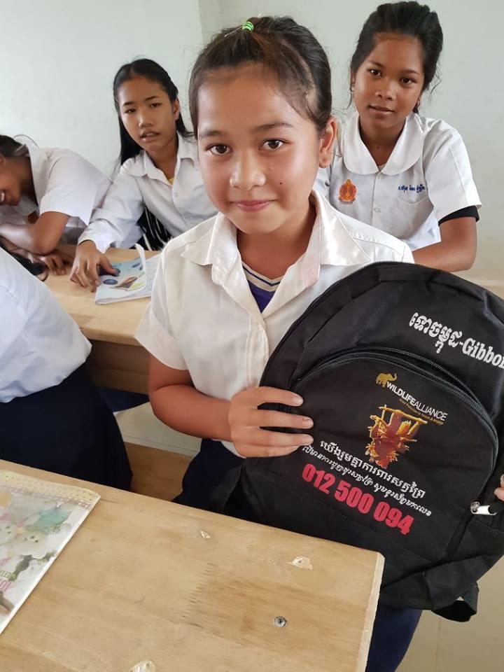 Wildlife Alliance's Mobile Environmental Educator in Phnom Prek environmental education Cambodia 3