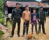 Poaching and logging crackdown inside Cardamom National Park protected area Poaching and Logging crackdown in Koh Kong  200x165 in the news In The News Poaching and Logging crackdown in Koh Kong  200x165