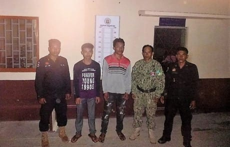 Poaching and logging crackdown inside Cardamom National Park protected area The 2 men were brought to the Court in Koh Kong and prosecuted 460x295