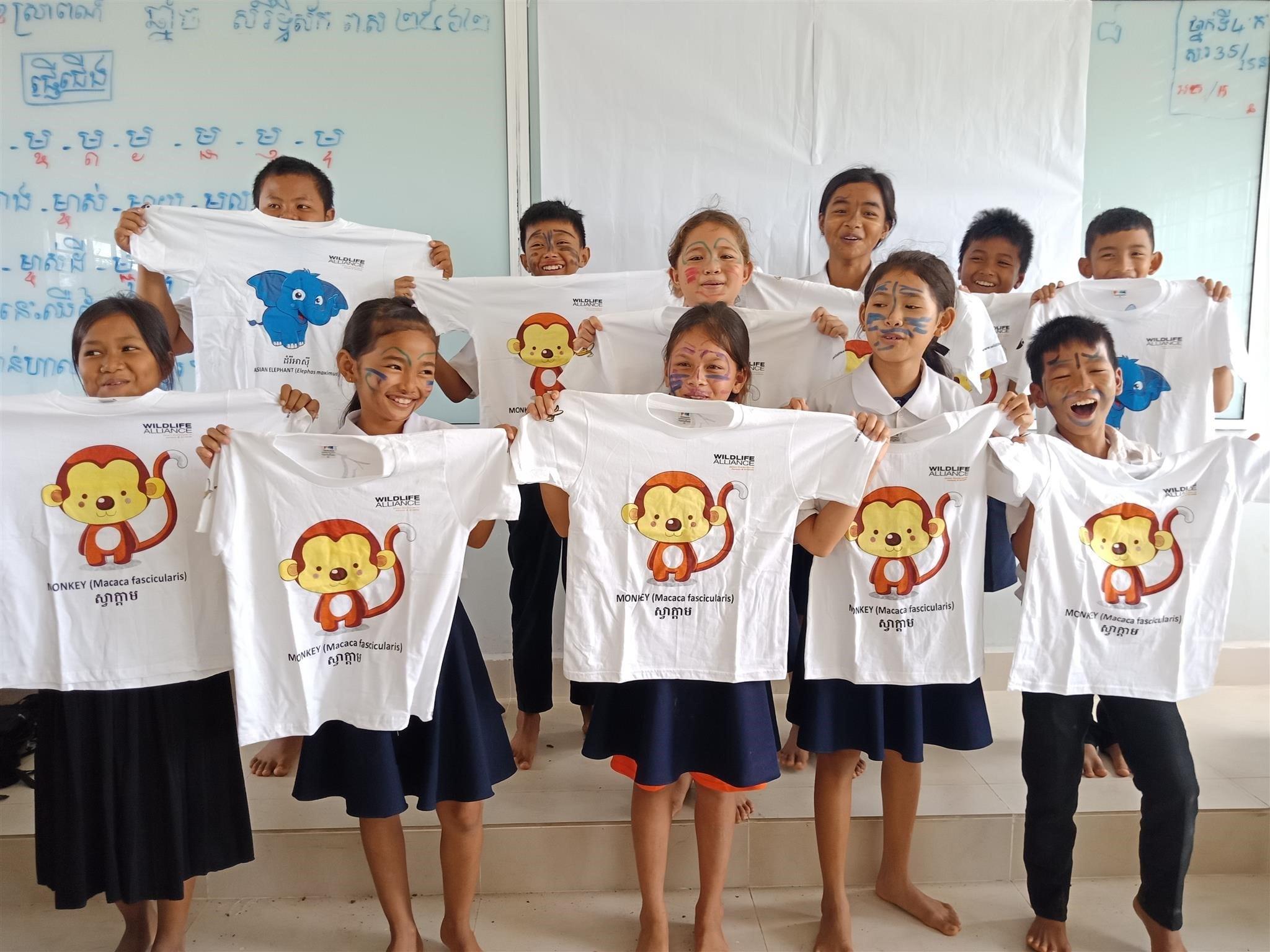 raised awareness Raising awareness of wildlife and habitat protection wildlife and habitat protection Cambodia