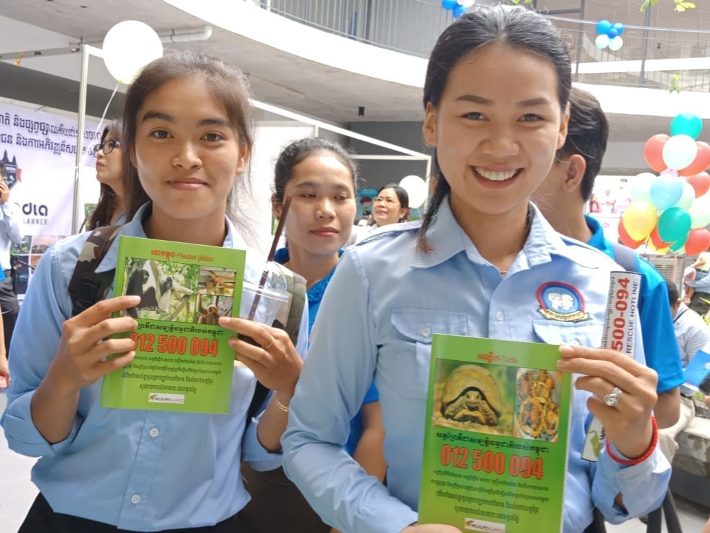 environment education Mobile Environment Education activities Youth Federation of Cambodia 1 1
