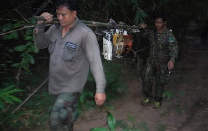 sponsor the clouded leopard station Sponsor the Clouded Leopard Station Illegal logging in Cambodia 700x441