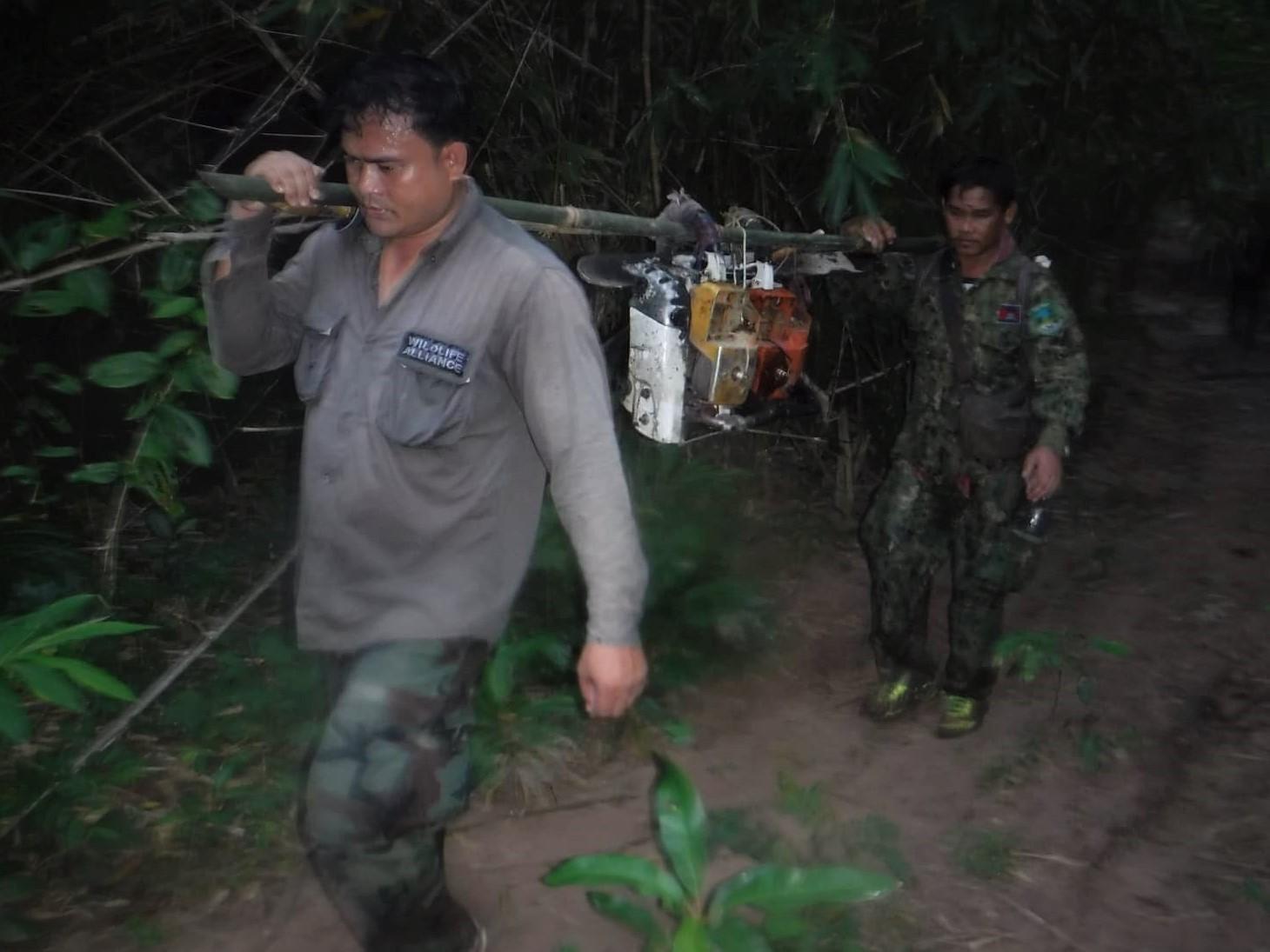 sponsor the clouded leopard station Sponsor the Clouded Leopard Station Illegal logging in Cambodia